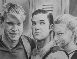 Chord, Darren, Heather by DraconaMalfoy