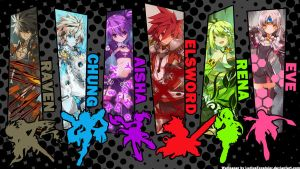 Elsword All Characters by LuciusExcelsior
