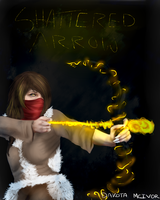 Shattered Arrow Concept book cover by Allixi