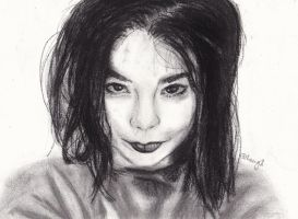Bjork by Changingtherain