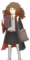 Hermione by 0theghost0