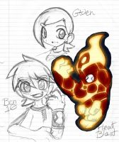 Ben 10 messing around 1 by rongs1234