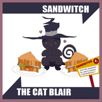 SandWitch Blair by ninjadogger