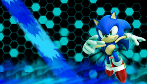 Sonic The hedgehog WP by JRDN762