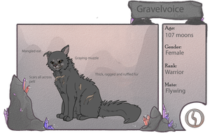 |CotN| Gravelvoice by CatzTheUnmighty
