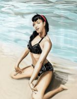 betty page colors by GIO2286