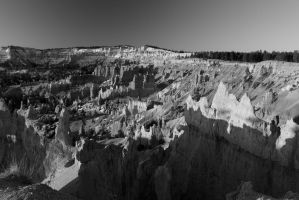 Stock: BW Bryce Canyon by Celem