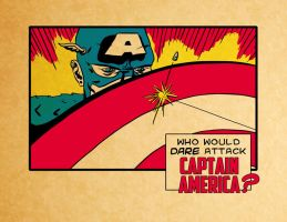 "Captain America ""Kirby Style"" by Karbacca"