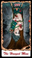 B'T X Tarot The Hanged Man by Shirei-Shou