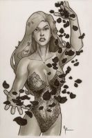 Poison Ivy, Commission by Guy-Bigbelly