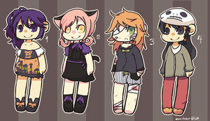 Spooky Adopts [POINTS] by vanillabit