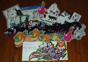 Sticker Pack to USA by Lorfis-Aniu