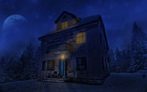Old house by Neshom
