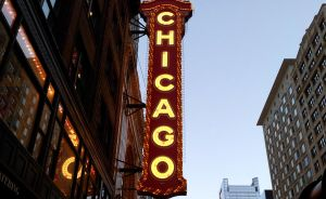 Chicago sign by inafas