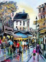 Montmartre Paris by ricardomassucatto