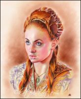 Sansa Stark by Katerina-Art