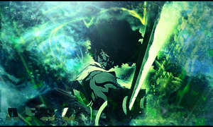 Afro Samurai 'The Forest' by doublefrank