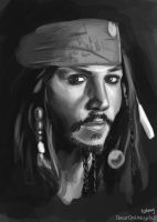 Jack Sparrow by bearOnUnicycle