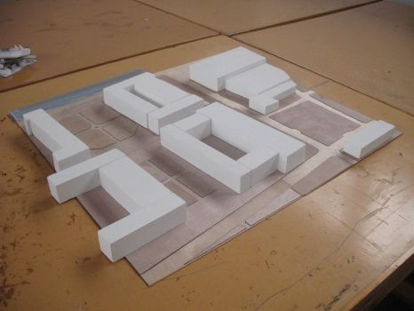 Greenwich Site Model by visualirony