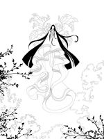 WIP - Goddess of the Leaves by c-a-s