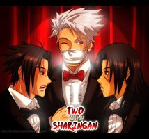 Two And a Half SHARINGAN by VitorAmorosoUzu