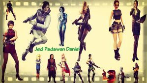 My favorite Female Video Game Characters by jedipadawandaniel