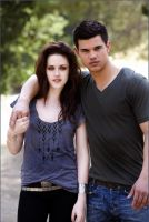 Bella Vamp and Jabob by Liliah