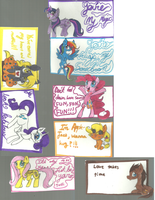 My Little Ponies: Valentine Days Cards!!!!!! by ModernLisart