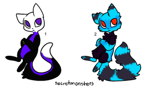 Blacklight Kitty Adopts - Adopted by Feralx1