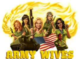 Army Wives Tee by badwhitney