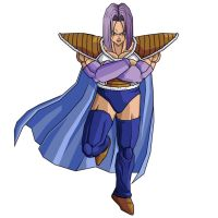 Trunks in Zarbon's Outfit by moonrakerone
