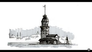Maiden's Tower by bozwolfbros