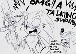 Sonic's freakin happy by missyuna