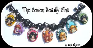 The Deadly sins Necklace by Bojo-Bijoux