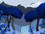 .: Blue Forest Painting :. by AlbinaReed