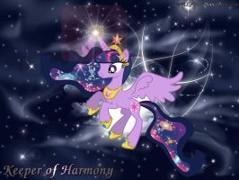 Princess of Harmony Twilight by MLR19