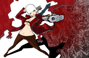 Video Girls: Devil May Cry by GuitarAtomik