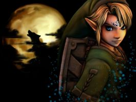 Eyes of a Wolf -LoZ TP- by sambees