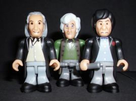 CB 1st 2nd 3rd Doctors by CyberDrone