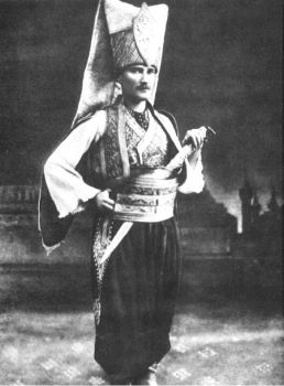 Ataturk in Janissary clothes by turkpanzer