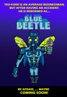 The Blue Beetle! by CartoonMonsters