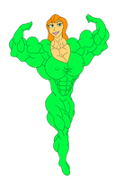 Sam From Totally Spies by lccomics