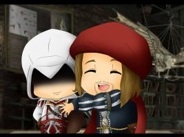 AC - Let s hug Ezio by Mibu-no-ookami