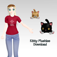 Kitty Plushies Download by Squibyplaya