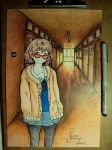 Kyoukai No kanata - Fan Art by cheshirescat