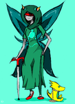 Seer of Mind -- Homestuck by yellowgal01