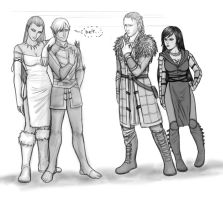 how tall are you Hawke? by Lilithblack
