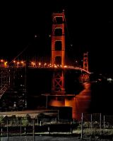 Golden Gate Night 2 by dpierce1313