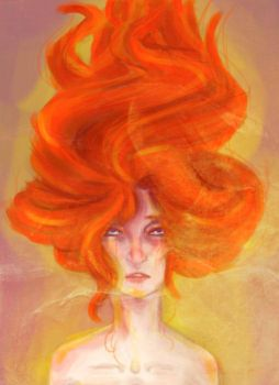 Flame Princess by ThatRandomGurl