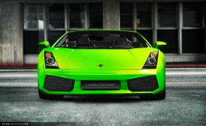 Gallardo Spider - top down by dejz0r